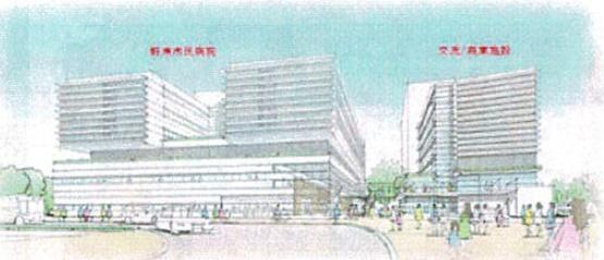 【野洲市】JR野洲駅南口医療ゾーン計画