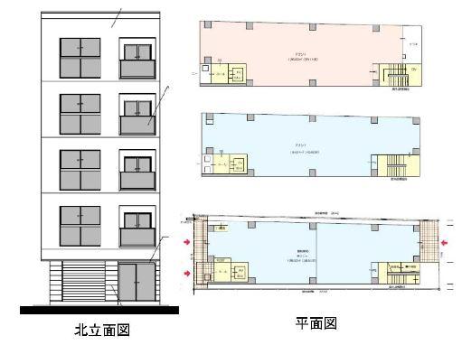 【大阪市西区】京町堀 新規クリニックビル建築計画
