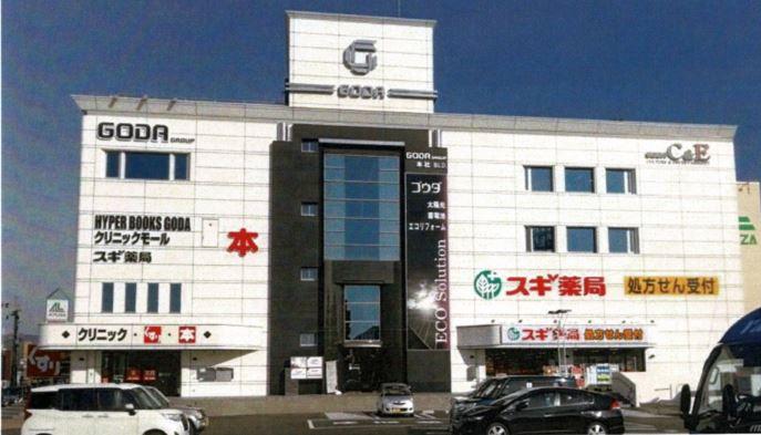 【大阪府茨木市】郊外型ドラッグストア併設クリニックビル