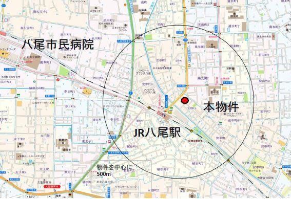 【八尾市】駅前ドラッグストア2階テナント