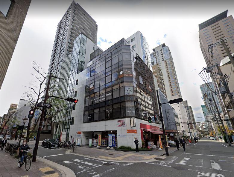 【大阪市中央区】北浜駅徒歩8分の複合ビル