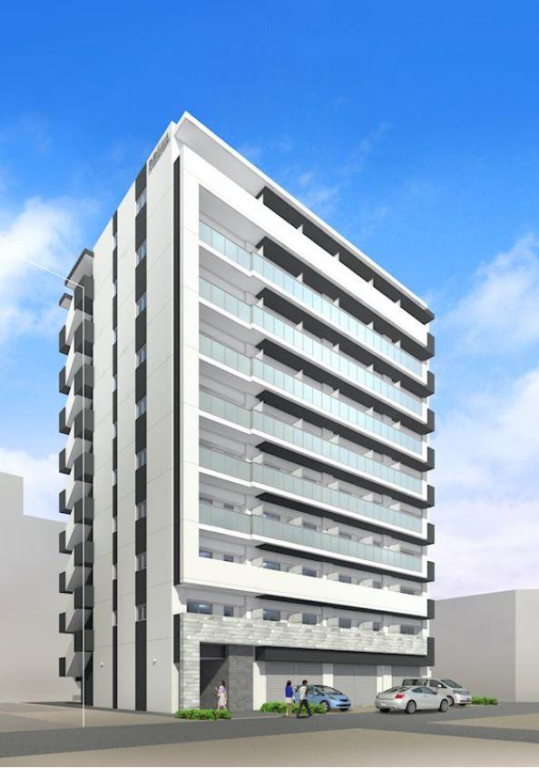 【大阪市東住吉区】針中野駅徒歩3分の新築マンション1階テナント